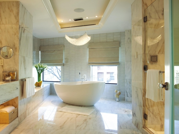 Beautiful Bathroom Lighting Fixtures Ideas Regarding Wonderful White Bathroom Accessories Ideas And Unique White Soaking Tub Combo Photo