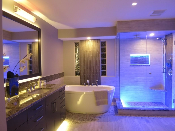 Beautiful Bathroom Lighting Fixtures Ideas With Beautiful Interior Design LED Bathroom Light Fixtures Pics