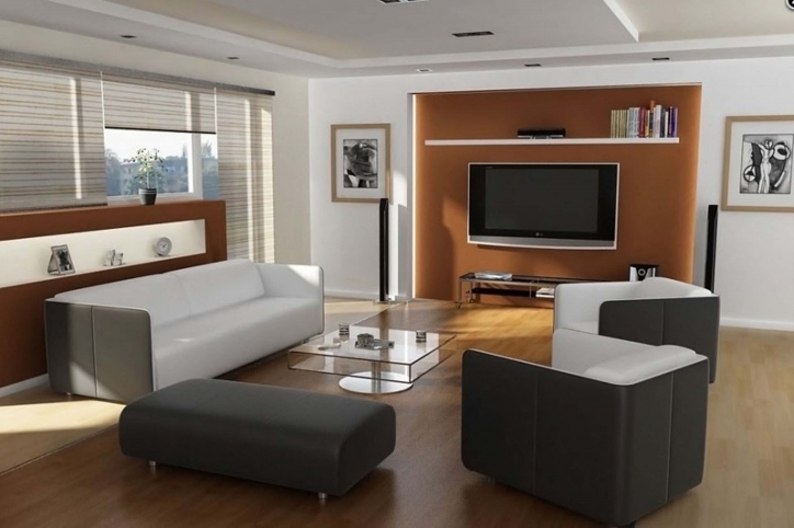 Beautiful Contemporary Living Room Furniture Ideas Regarding Cozy And Trendy Modern Decorating Small Rooms With Leather Sectional White Sofas Image 675