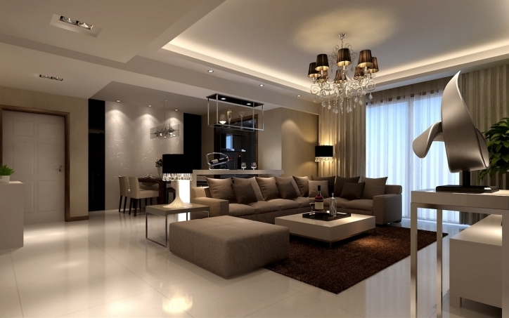 Beautiful Contemporary Living Room Furniture Ideas With Amazing Modern Pendant And Ceiling Lighting Fixtures Also Black White Unique Desk Lamp Ideas Pics 481