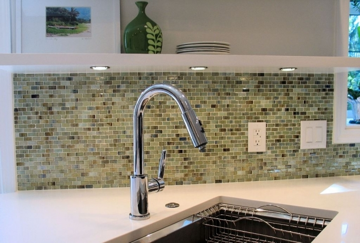 Fantastic Mosaic Kitchen Backsplash Glass Tiles 987