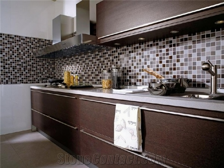 Fascinating Mosaic Kitchen Backsplash Stone Mosaic Pebble Glass From Poland 320