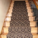 Hardwood Stairs Carpet Runner Inspiring Installation
