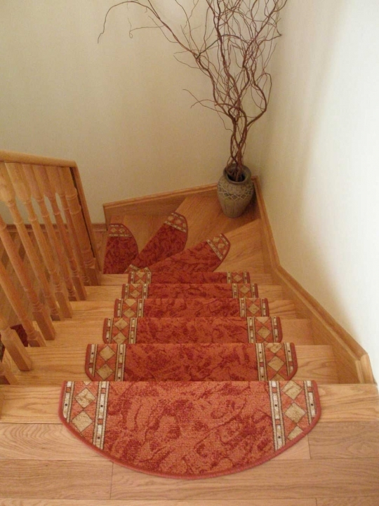 Hardwood Stairs Carpet Runner Classic Pictures 846