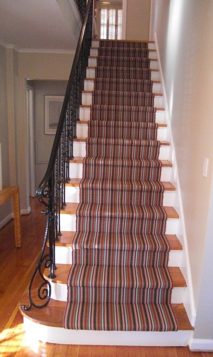 Hardwood Stairs Carpet Runner Ideas Pics 508