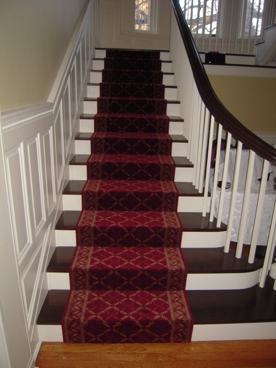 Hardwood Stairs Carpet Runner Inspiring Decor Image 216