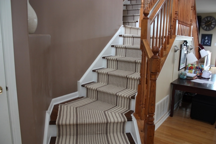 Hardwood Stairs Carpet Runner Style Ideas Picture 688