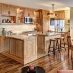 Inspiring Kitchen Flooring Ideas with Beautiful Cabinets