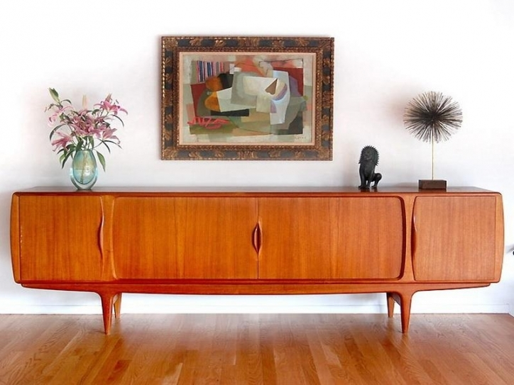 Mid Century Modern Credenza Regarding Brilliant Media Credenza Design Furniture Pics 642