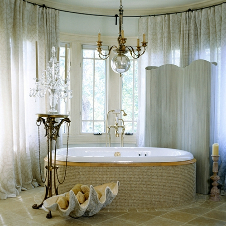 Mini Crystal Chandeliers For Bathroom Amazing Small Bathroom Decorating 043