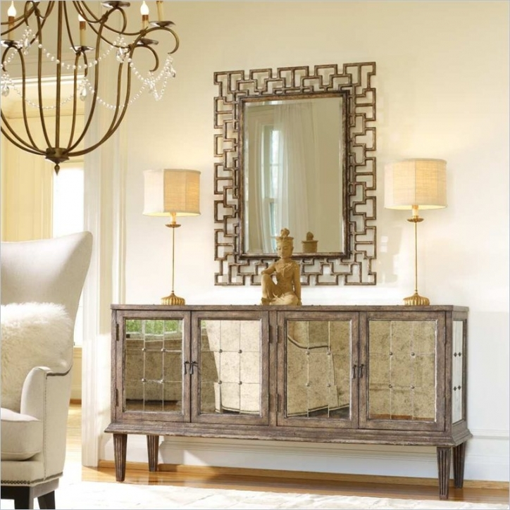 Mirrored Console Table Regarding Fantastic Melange Devera 738