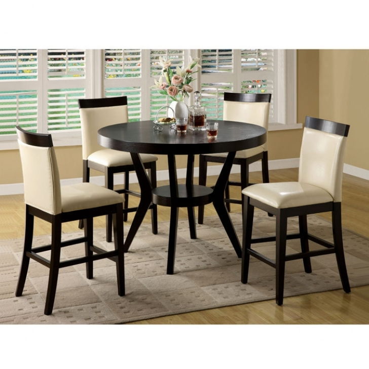 Modern Counter Height Dining Set Regarding Brilliant Choosing For Best Furniture Ideas Counter Height Dining Table Set Image