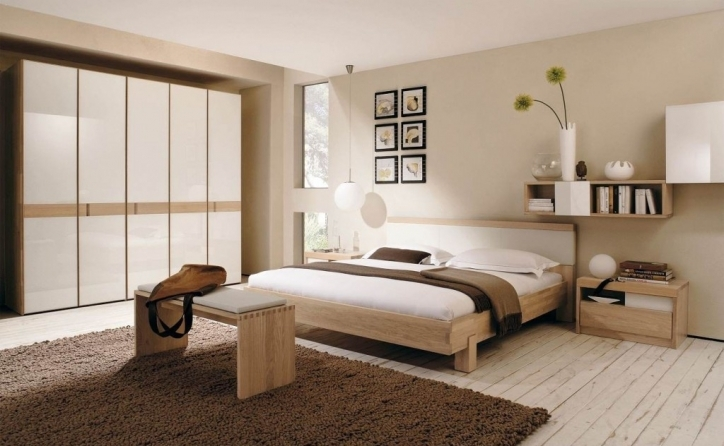 Rustic Bedroom Furniture Sets Interior With Modern Bed 160