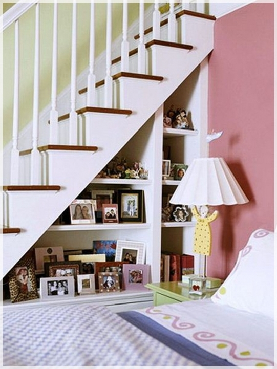 Under Stairs Storage Ideas Solution Offer Wall Mount Shelves For Display Saving Units 133