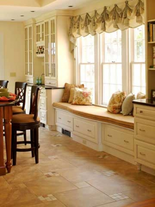 Under Window Storage Seat Ideas Dining Room 749