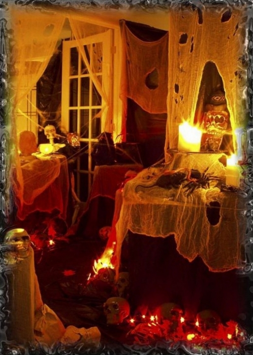 Amazing Halloween Decoration Ideas For Party Killer Halloween Party Decoration Scary Design Ideas Pic