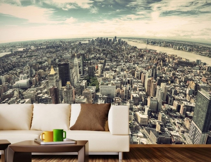 Attractive Removable Wall Murals 5th Ave NYC Removable Wall Mural Pics