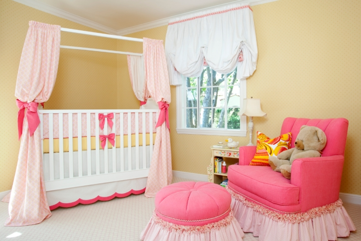 Baby Girl Nursery Themes Cute Color Ideas Images