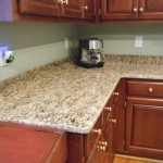 Wonderful ST Cecilia Light Granite Kitchen Ideas