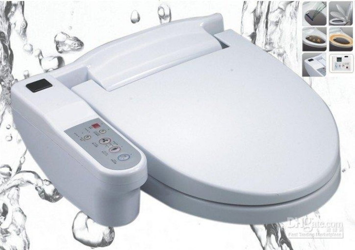Bidet Toilet Seat Automatic Body Cleaning Toilet Seat Image