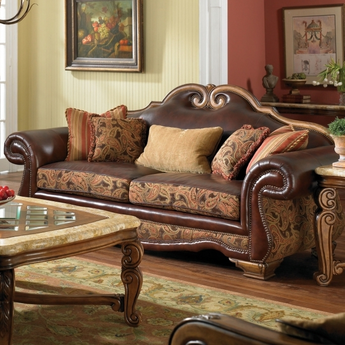 Camel Back Couches Michael Amini Toscano High Back Sofa  Pics