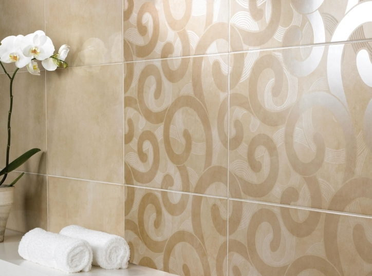 Model Tiles In Modern Bathroom Ideas A Modern Bathroom With Geometric Tiles