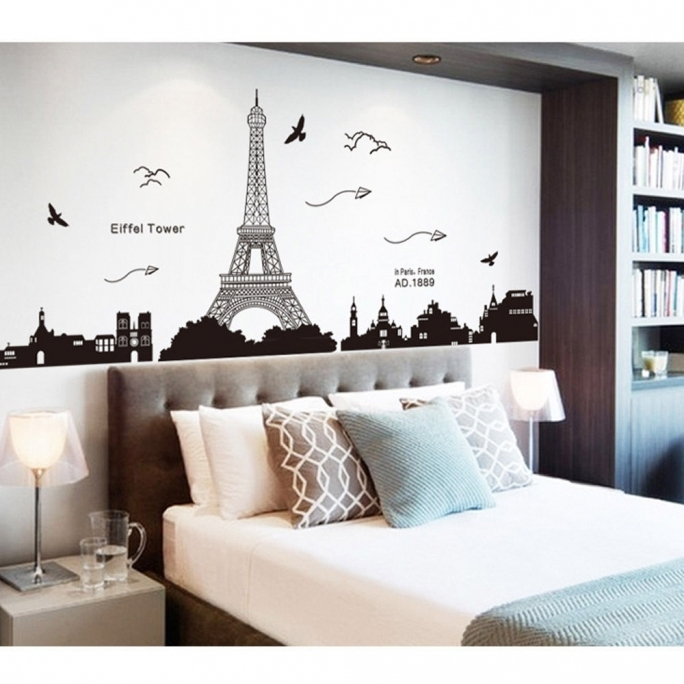 Fascinating Removable Wall Murals Paris Cheap Ideas Picture