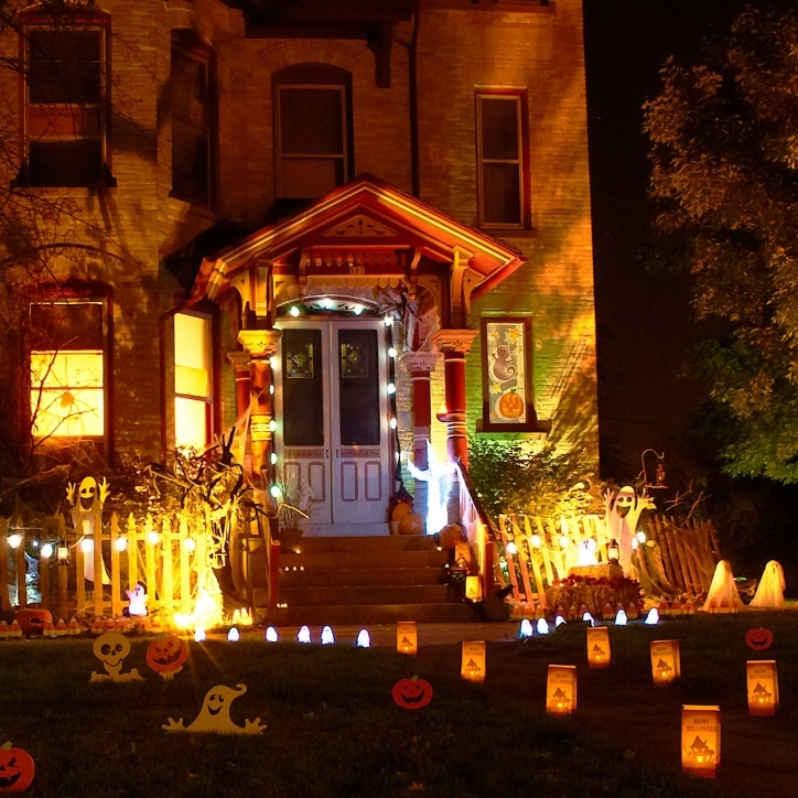 Gorgeous Halloween Decoration Ideas For Party Diy Halloween Yard Decoration For Front Home Photos