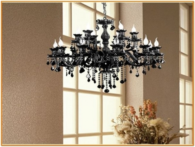 Great Italian Chandeliers Style Black Lighting Home Interior Design Image