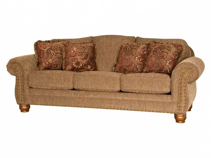 MAYO Camel Back Sofa Fabric Nailhead Living Room Furniture Design Pics