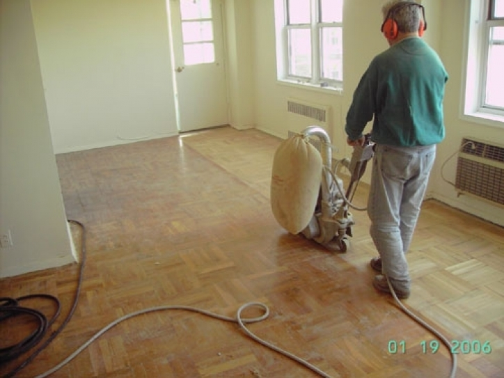 Unfinished Hardwood Flooring Installation Project Pics