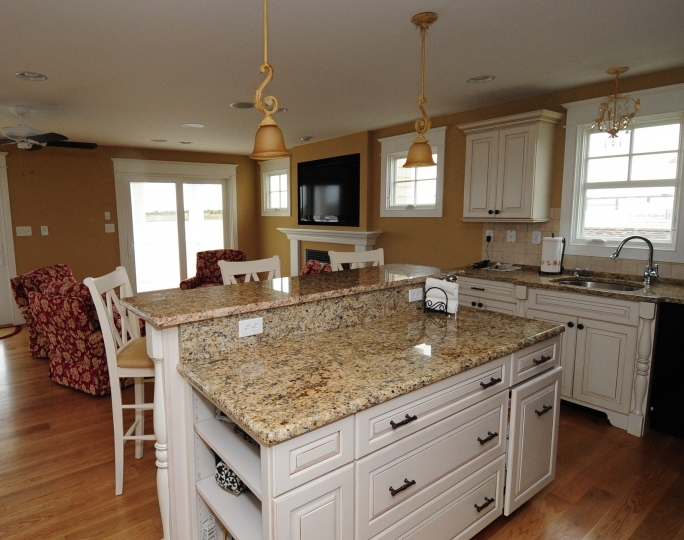 Wonderful ST Cecilia Light Granite Kitchen Slab Ideas Pictures