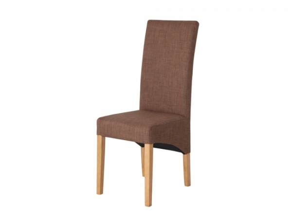 Brown Leather Dining Chair Darcy Pair Design Images