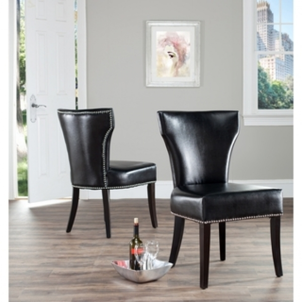 Brown Leather Dining Chair New Dining Sets Pics