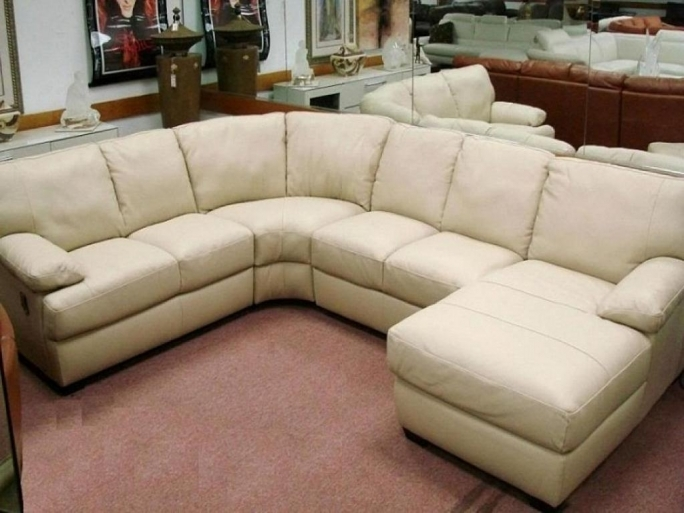Natuzzi Leather Sectional Sofa Italian Furniture Picture