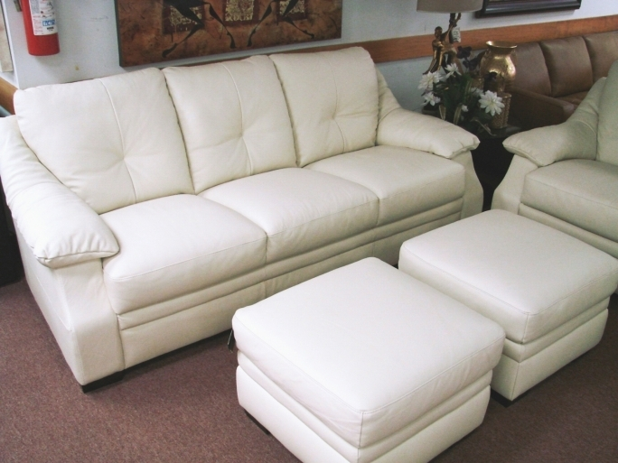 Natuzzi Leather Sectional Sofa White Furniture Interior Ideas Photo