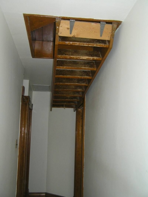 Pull Down Attic Stairs Home Style Ideas Picture