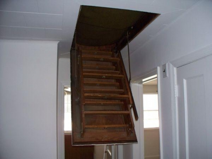 Pull Down Attic Stairs Inspiration Design Pic
