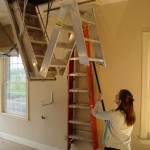 Pull Down Attic Stairs Design Ideas