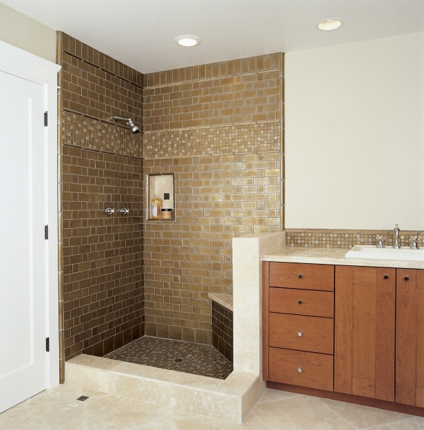 Oceanside Glass Tile Bathroom Shower Los Angeles Pictures