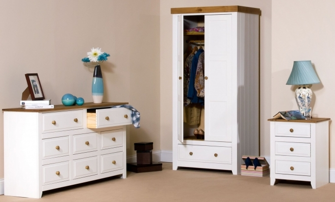 Painted Bedroom Furniture Capri White Wood Trim Photo