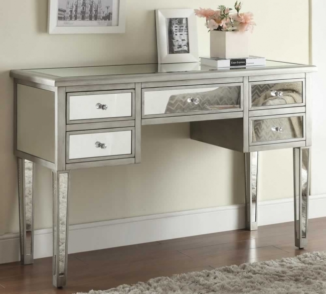 Mirrored Hallway Furniture Best Modern Mirrored Entryway Tables Image
