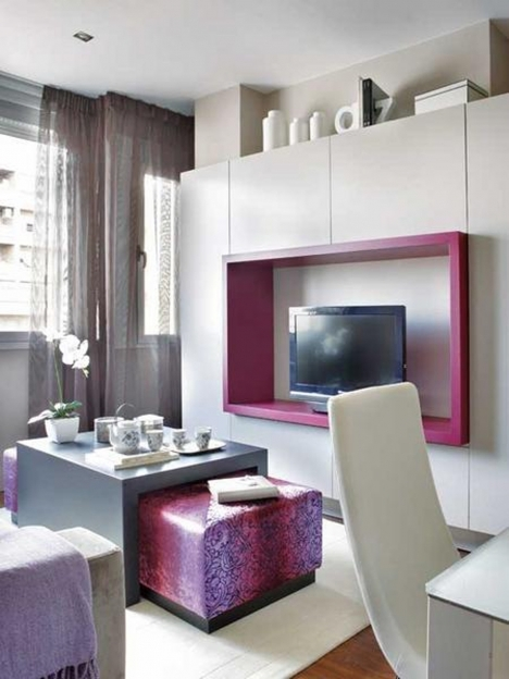 Small Space Living Room Apartment Interior Design Solutions Photos