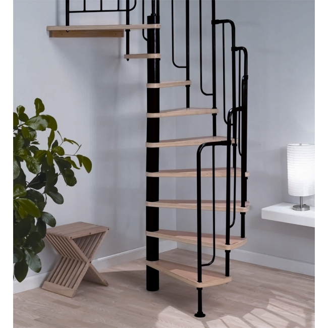 Spiral Staircase Kits Barcelona Black Images