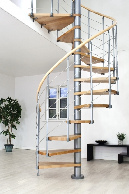 Spiral Staircase Kits Domestic Space Saving Modular Design Image
