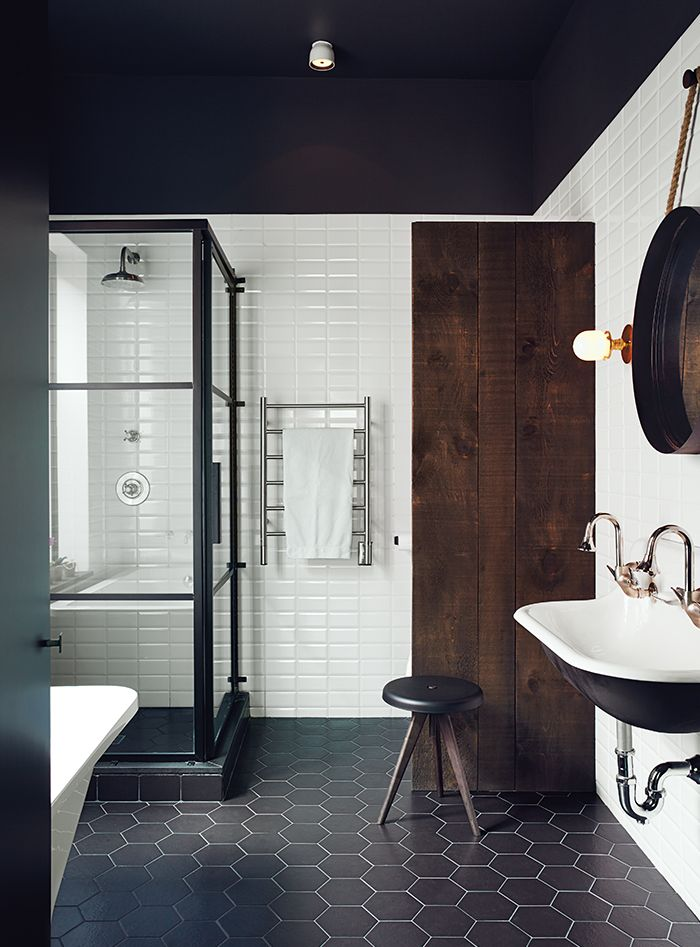Black and White Bathrooms Renovations Using a Restricted Color Palette in the Bathroom