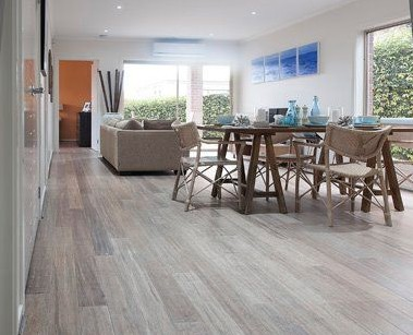 Cozy Embelton Bamboo Flooring Beach House Design