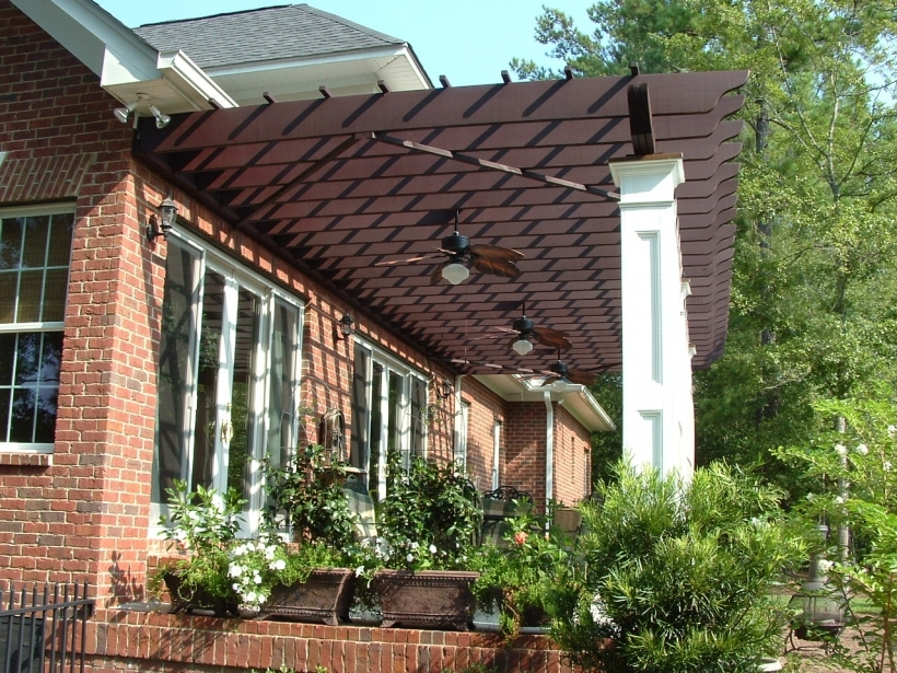 Brilliant Front Porch Pergola Plans  Pic