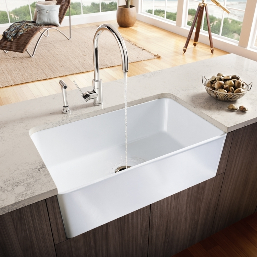 Great Drop In Farmhouse Kitchen Sinks Design Photos
