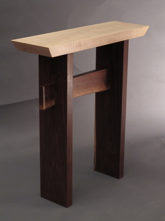Incredible Small Entry Table  For Small Console Pic
